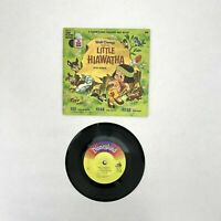 "Walt Disney Story Of Little Hiawatha Disneyland Record & Book 1968 7"" 33-1/3rpm"