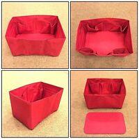 Speedy 30 LV  Bag Organizer Insert  Base Shaper RED COLOR Handbag Accessories