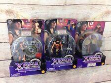 "Lot Of Xena Warrior Princess 6"" Action Figures Toy Biz Velasca Harem Conqueror"