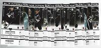 2011-2012 NHL KINGS UNUSED HOCKEY ENTIRE SEASON TICKETS STANLEY CUP SEASON (41)