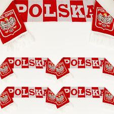 WM-2018 Schal Fans POLSKA Polen Polnische Patriot  Fahne-Fussball