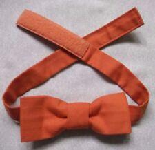 Vintage Bow Tie MENS Dickie Bowtie Adjustable TANGERINE ORANGE