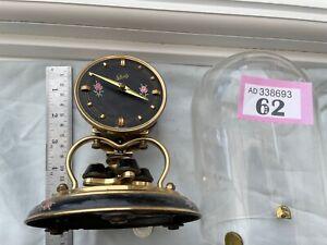 Schatz 400 Day clock Anniversary Torsion Mantle Clock Under PLASTIC Dome