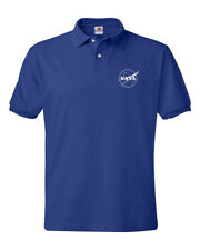 NASA Logo RETRO old school Polo Shirt S-5XL