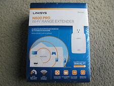 New Linksys RE4000W N600 PRO Wi-Fi Dual Band Range Extender 2.4GHz & 5.0GHz