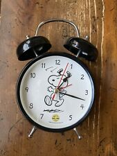 Peanuts Alarm Clock Celebrating  60 Years  Plays Linus & Lucy Song 2010 Works