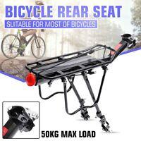 Bicycle Mountain MTB Bike Carrier Rear Rack Seat Post Mount Pannier Luggage