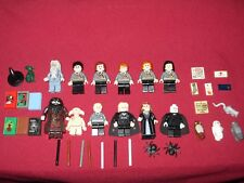 LEGO Harry Potter minifigures LOT Dumbledore,Voldemort,Hagrid,Lucius,Narcissa +