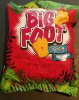 Jamaican Big Foot cheesy Spicy Holiday snack pack of 12 x 25g - Kidz Favorite