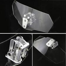 For Suzuki Burgman 650 GS500 F BK GSF600S Bandit Clip on High Windscreen Clear
