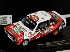 FORD ESCORT RS1800 #1 WINNER BOUCLES SPA 2014 F. DUVAL  IXO RAC246 1/43