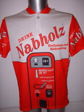 Nabholz Drink Shirt Jersey Adult XL Cycling Cycle Bike Ciclismo Top Mountain