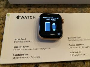 Apple Watch 5 40mm Rose Gold GPS + Cellular - Brand New Pink Band