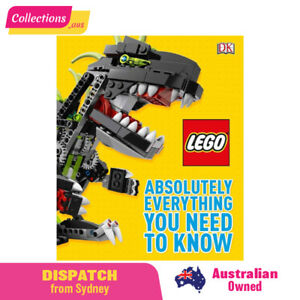 LEGO - Hardcover Book - Absolutely Everything You Need to Know - FREE Shipping!!