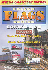 Fallen Flags Series Combo DVD New Pentrex B&O Amtrak NYC  NP IHB BN GN And More!