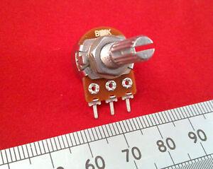 Single Gang 16mm Mono Mixer Pot, Linear Track Variable Resistor T18 Splined ff