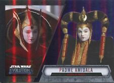 Star Wars Evolution 2016 Purple Parallel Card #13 Padme, Amidala - Queen of Nab