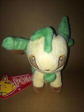 Pokemon Plush Teddy - Leafeon Soft Toy - Size: 12cm - NEW & Tagged