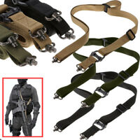 Adjustest Padded Quick Detach QD 2 point Rifle Tactical Sling Push-on Swivels US