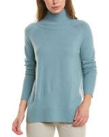 Lafayette 148 New York Raglan Cashmere Sweater Women's  L