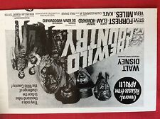 m77a ephemera 1971 film advert walt disney the wild country vera miles jack elam