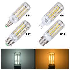 E27/E14/B22/G9 3W 6W 9W 12W 15W SMD 5730 LED Corn Light Bulb Spotlight Lamp UK