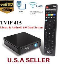 Smart TVIP.415 TV Box Linux/Android Quad Core FHD TVIP Media Player Dual WiFi