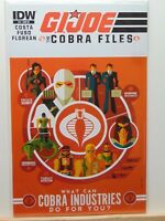 GI JOE The Cobra Files #3 Retailers Incentive RI Variant IDW Comics CB7365