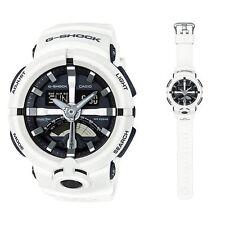 GA-500-7A White  G-shock Men's Watches Analog Digital Resin Band