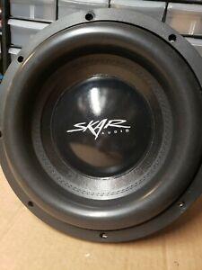 Skar Audio EVL-12 D4 2500W 12 inch Car Subwoofer used excellent working conditio