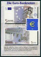 BUND MK 2002 EURO-EINFÜHRUNG PRIVATE !! MAXIMUMKARTE CARTE MAXIMUM CARD MC bt18