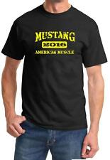 2016 Ford Mustang American Muscle Car Color Design Tshirt NEW Free Ship
