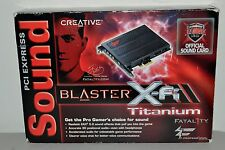 Creative Sound Blaster X-Fi Titanium Fatal1ty Pro S 70SB088600002 Audio Card Mnt