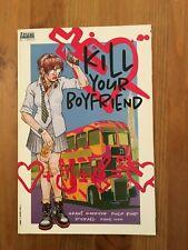 Kill Your Boyfriend by Grant Morrison & Philip Bond Vertigo 1998 VF Violence