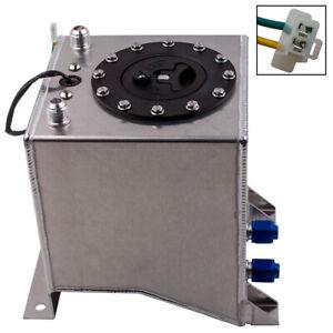 Aluminium Kraftstofftank Fuel Tank 9,5 Liter für Motorsport Rennwagen Drift
