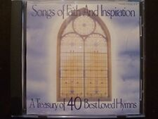Songs of Faith and Inspiration, A Treasury of 40 Best Loved Hymns [Audio CD] V..