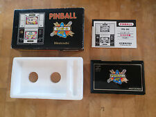 ***PINBALL*** 1983 PB-59  NINTENDO GAME AND WATCH   boxed!! JAPANESE!