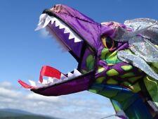 Einleiner: 3D-Drachen Drache 193cm grün