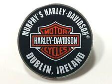 Murphy's Harley-Davidson Dublin Custom Round Bar and Shield PIn