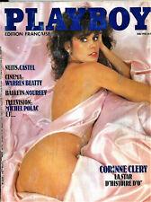 """Playboy N°102- Mai 1982 - Corinne Clery star d """"Histoire d'O"""""""