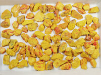 Bulk Lot 1/2 LB Red Realgar with Golden Yellow ORPIMENT Crystal 5-9pcs