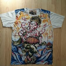 Men t shirt Lord Ganesha God Hindu Buddha Om cotton Online buy short sleeve M