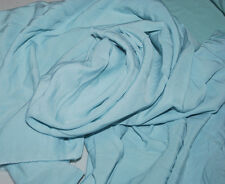 bamboo 100% Woven Fabric challis weight powder blue 7 continuos yards 6 oz