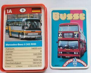 BUSSE - Quartett 1989 F.X. Schmid - sehr guter Zustand 50161.0