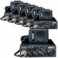 Uniden PRO520 40-Channel CB Radio, Mobile/Base Scanner, 2-Way CB radio (6-Pack)