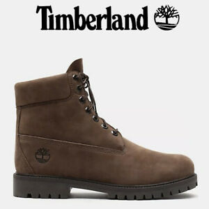 TIMBERLAND HERITAGE 6 INCH BOOTS LIGHT BROWN NUBUCK- leather waterproof A28VW