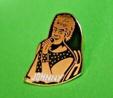 Pin's Lapel pin Pins Musique Johnny Hallyday avec micro EGF Signé SEDICOM EDITO
