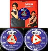Single Caterina Valente: Schau ich zum Himmelszelt (Decca D 18 982) Valente FLC