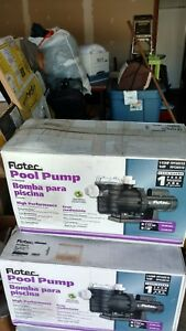 Flotec pool pump 1 1/2HP