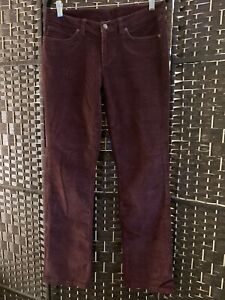 Patagonia Women's Maroon Cord Pants Size 29
